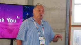 Yossi Vardi, presidente de la organización DLD, en una de las ediciones pasada de este evento israelí.