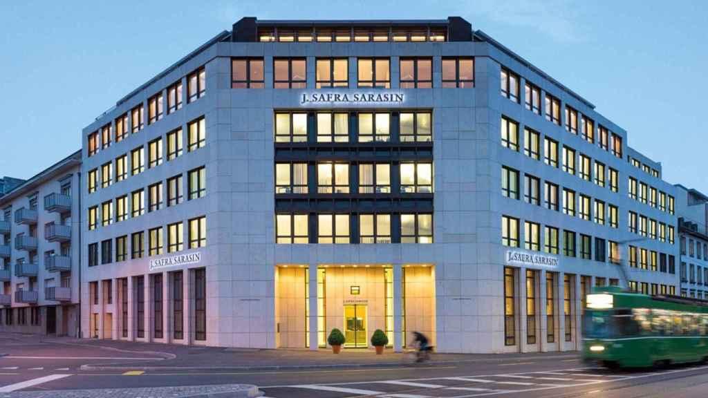 Sede de J. Safra Sarasin en Basilea (Suiza).