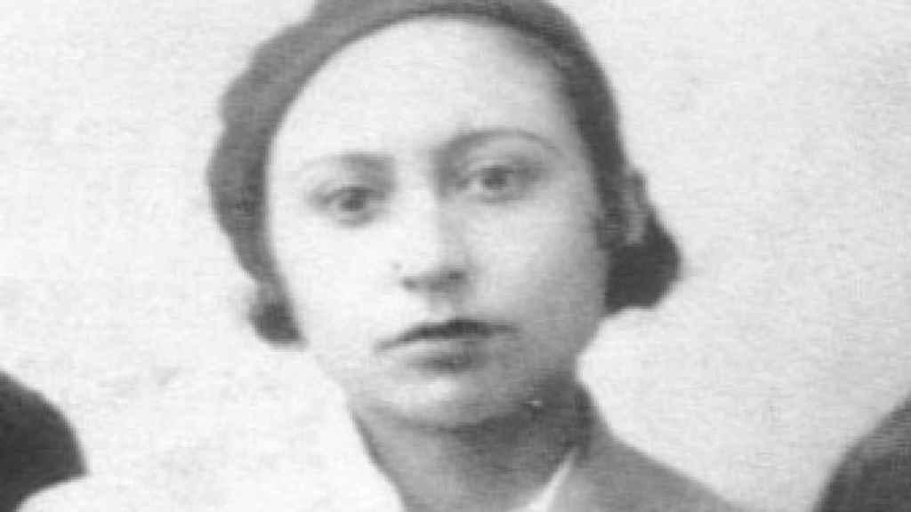 Retrato de Lucía Sánchez Saornil.