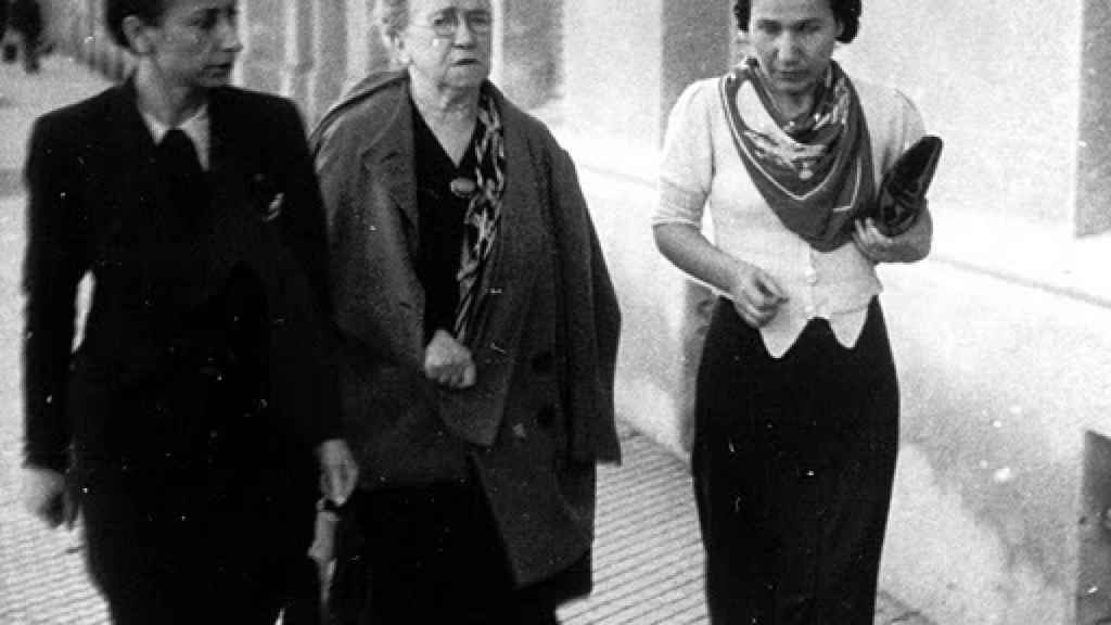 Lucía Sánchez Saornil y Emma Goldman en España.