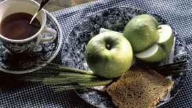Té y manzanas, fuentes de flavonoles.