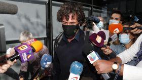 Nacho Palau a la salida de los juzgados de Pozuelo de Alarcón.