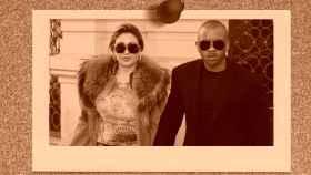 Tony Anikpe junto a su exmujer Raquel Mosquera en montaje de JALEOS.