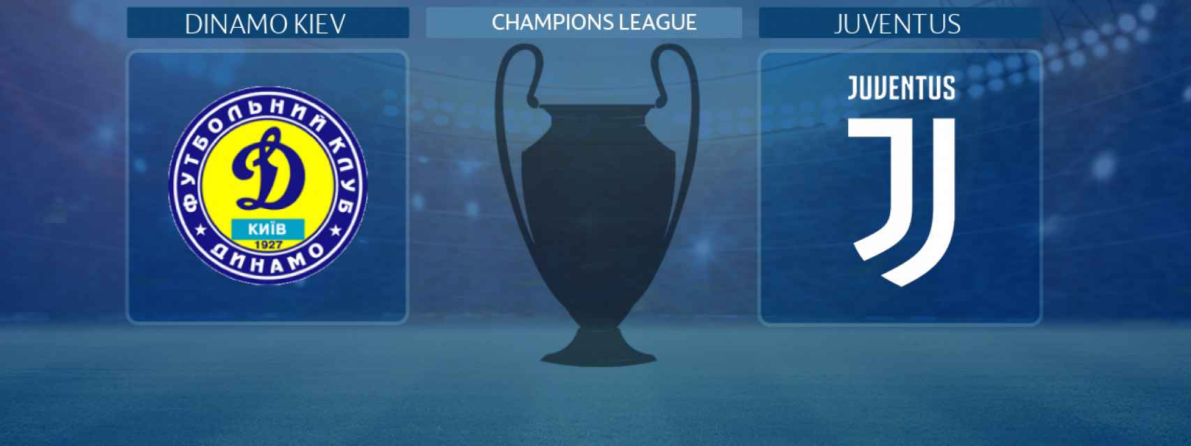 Dinamo Kiev - Juventus, partido de la Champions League