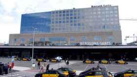Estación Barcelona Sants.