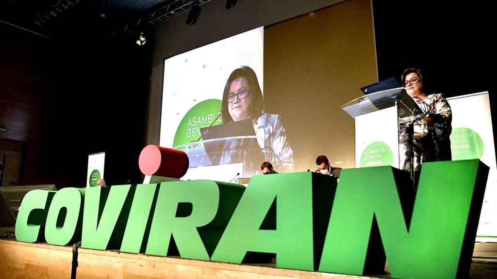 La Asamblea General de Covirán celebrada ayer en Granada.