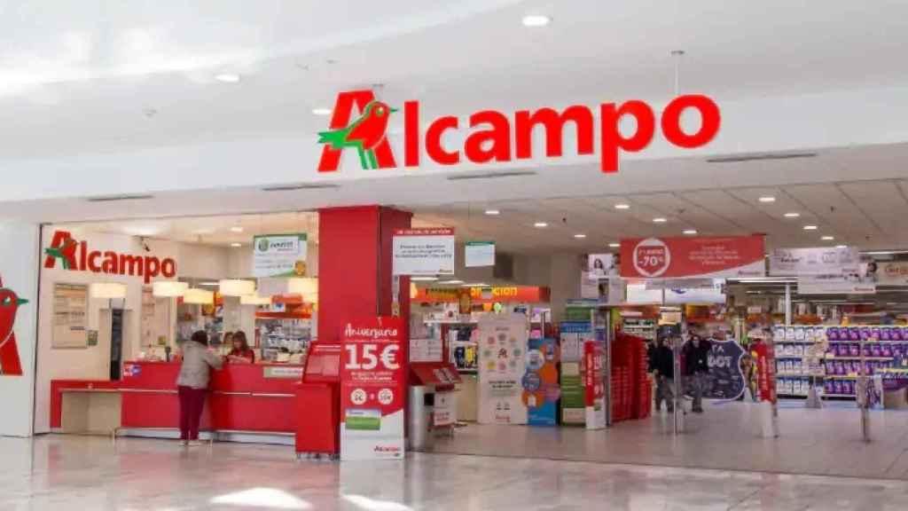 Hipermercado de Alcampo en La Vaguada.