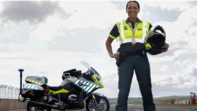 La sargento de la Guardia Civil Marian Santiago.