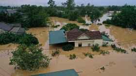 Las inundaciones en Vietnam.