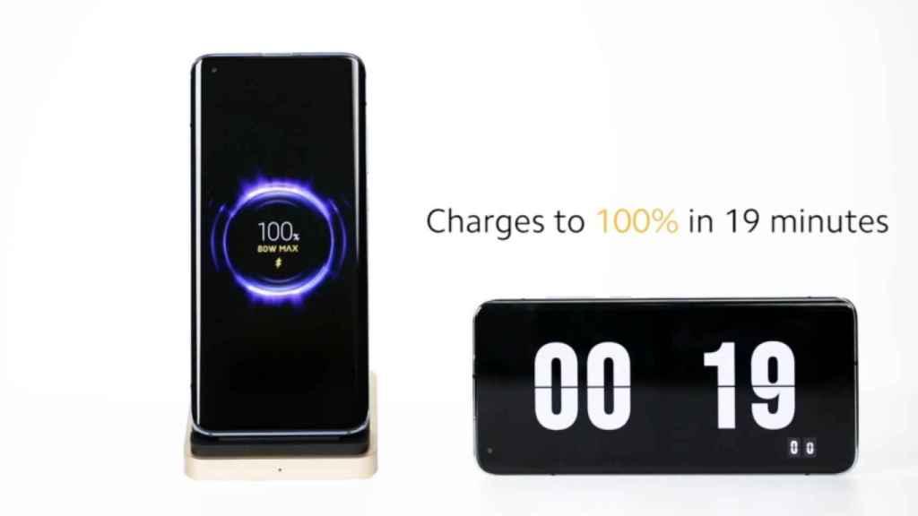 Este cargador inalámbrico de Xiaomi es una locura: 100% de carga en 19 minutos