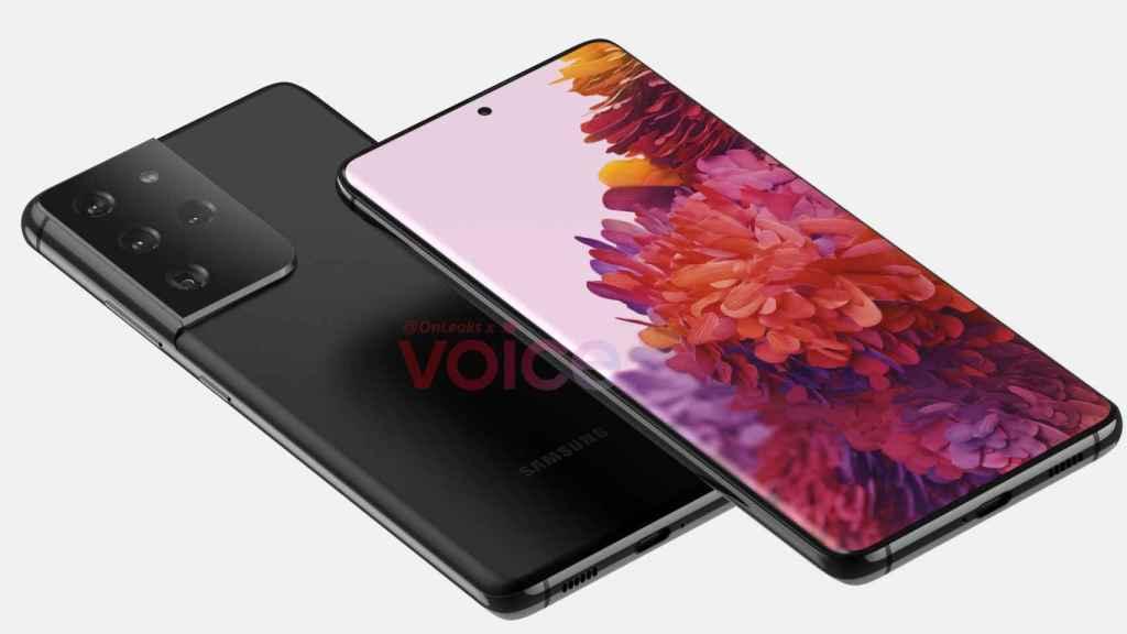 Posible diseño del Samsung Galaxy S21 Ultra