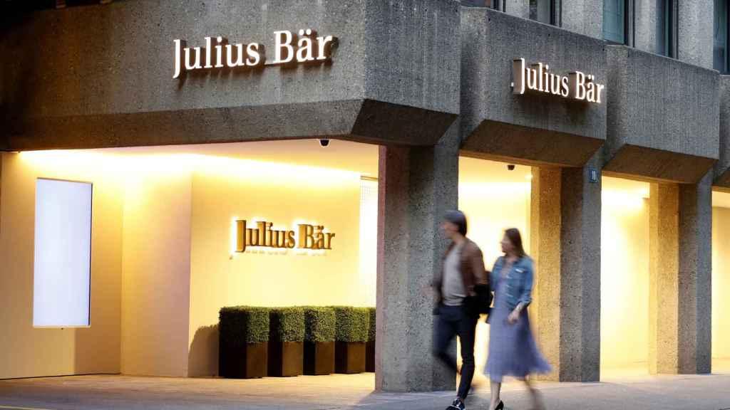 Oficinas de Julius Baer en Suiza.