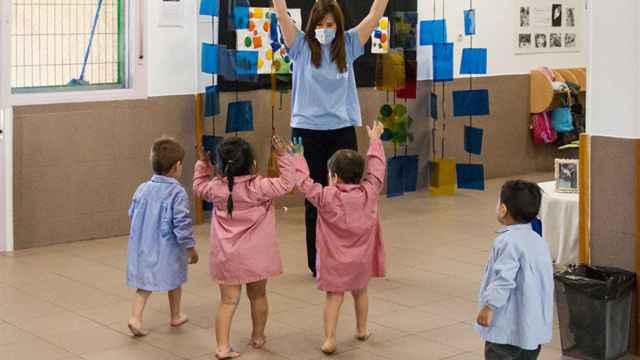 La nueva normalidad de una escuela infantil: burbujas, protocolos y más cariño que nunca
