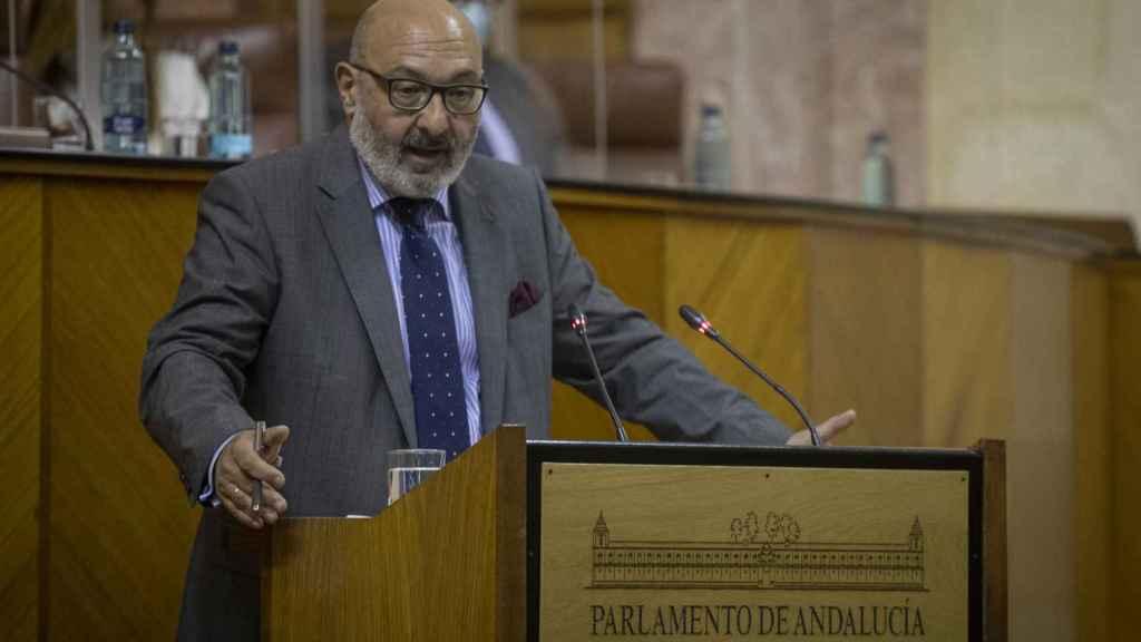 El portavoz de Vox, Alejandro Hernández.