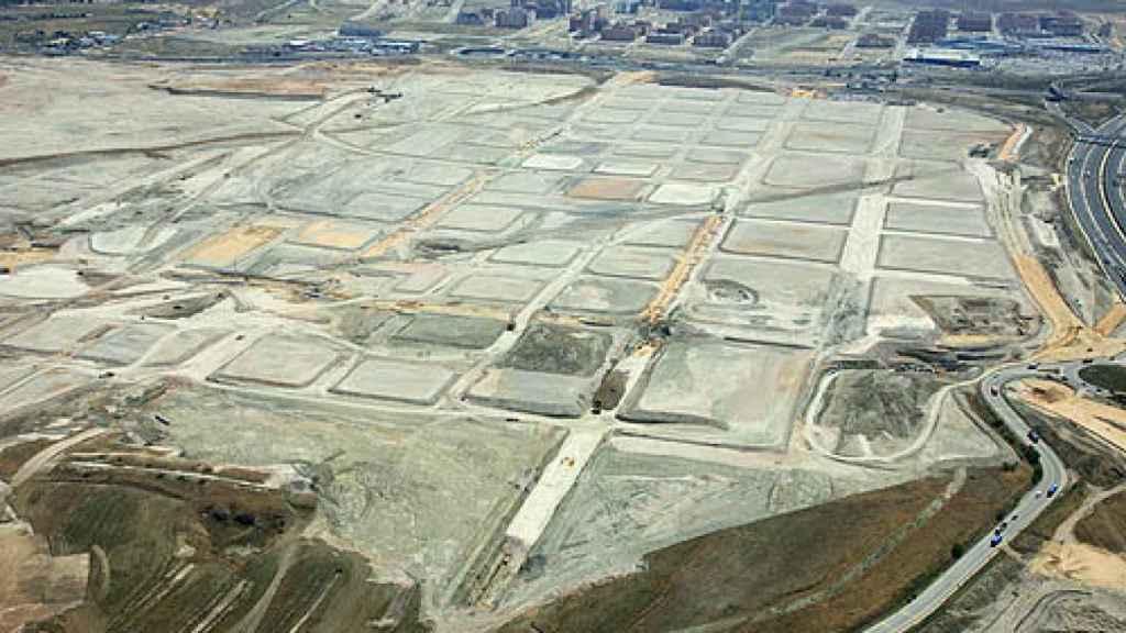Imagen aérea de Los Berrocales.