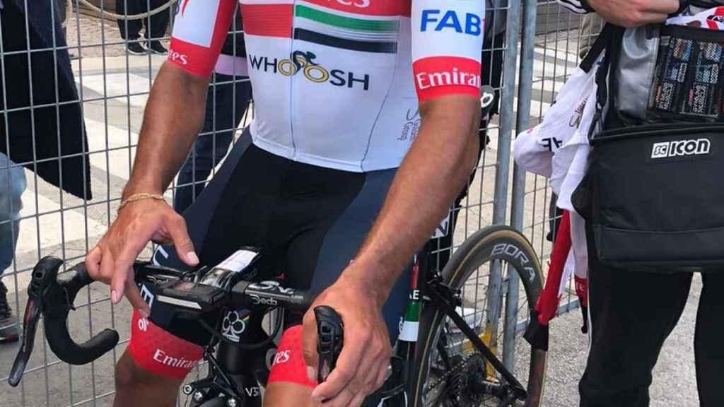 Fernando Gaviria, en el Giro de Italia
