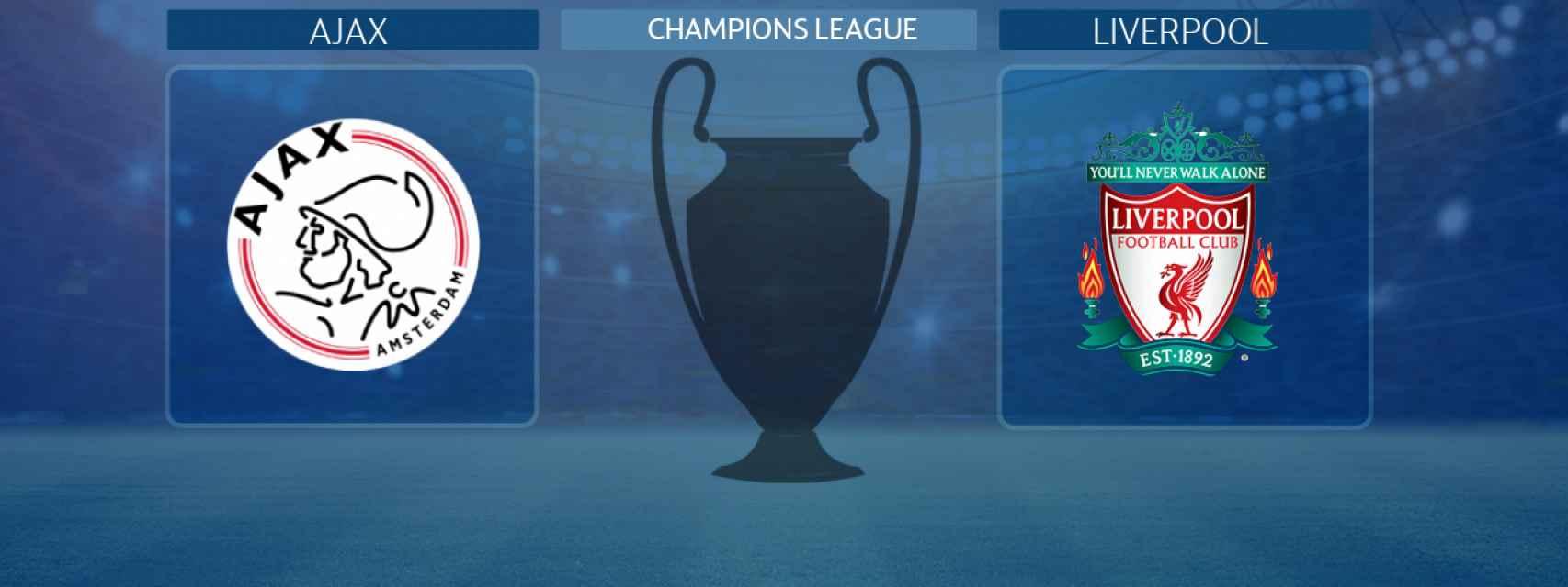 Ajax - Liverpool, partido de la Champions League
