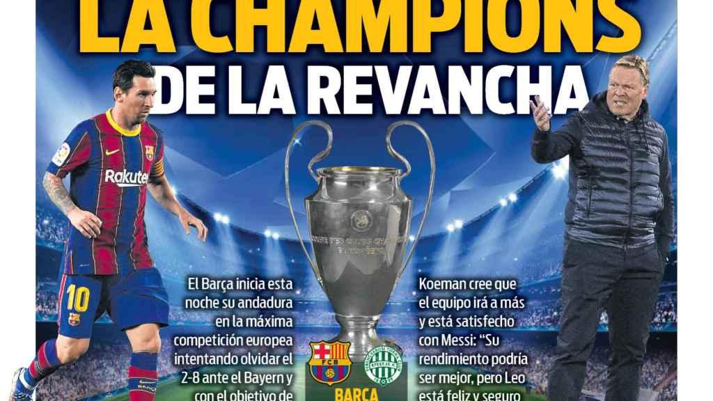 Portada Sport (20/10/20)