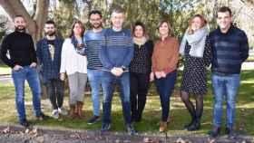 Los componentes de la Junta de Gobierno del Colegio de Trabajo Social de Castilla-La Mancha