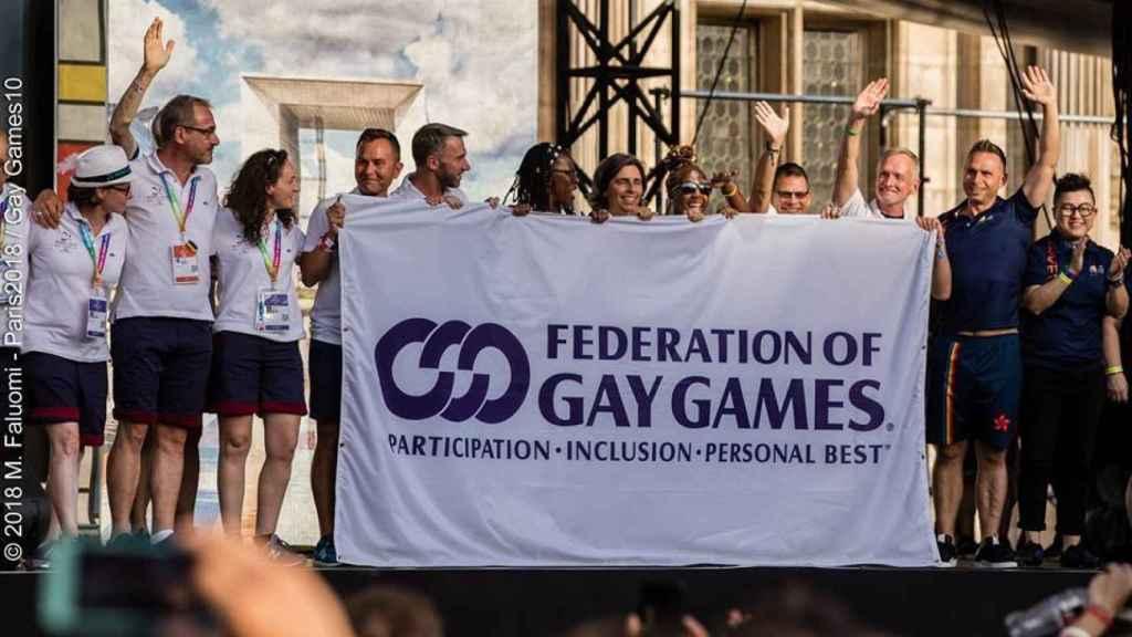 Evento de la rganización de los 'Gay Games'.