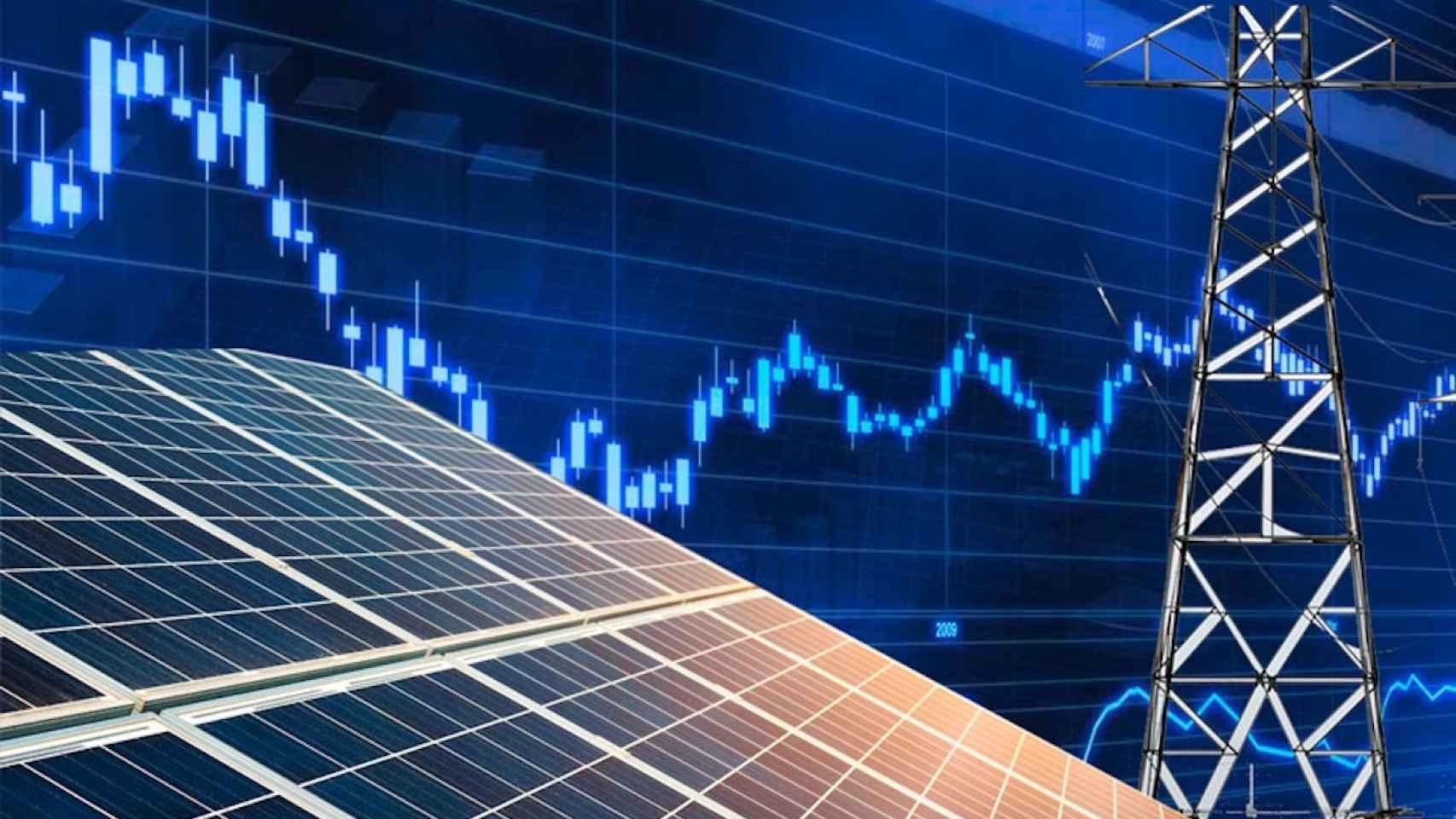 El mercado eléctrico no supera la barrera de los 40 euros/MWh, su mínimo en diez años