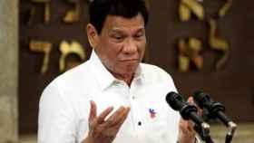 Rodrigo Duterte en una imagen de archivo.