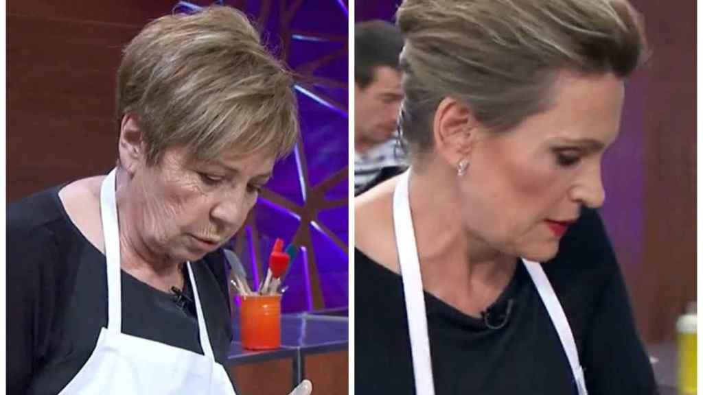 Celia Villalobos y Ainhoa Arteta en montaje de JALEOS.