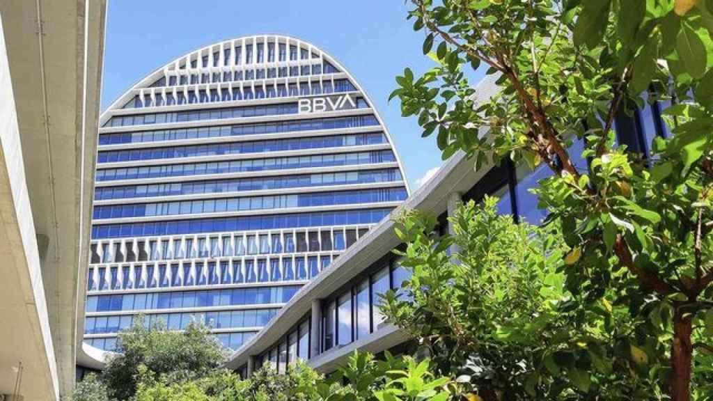 La Vela, sede de BBVA en Madrid.