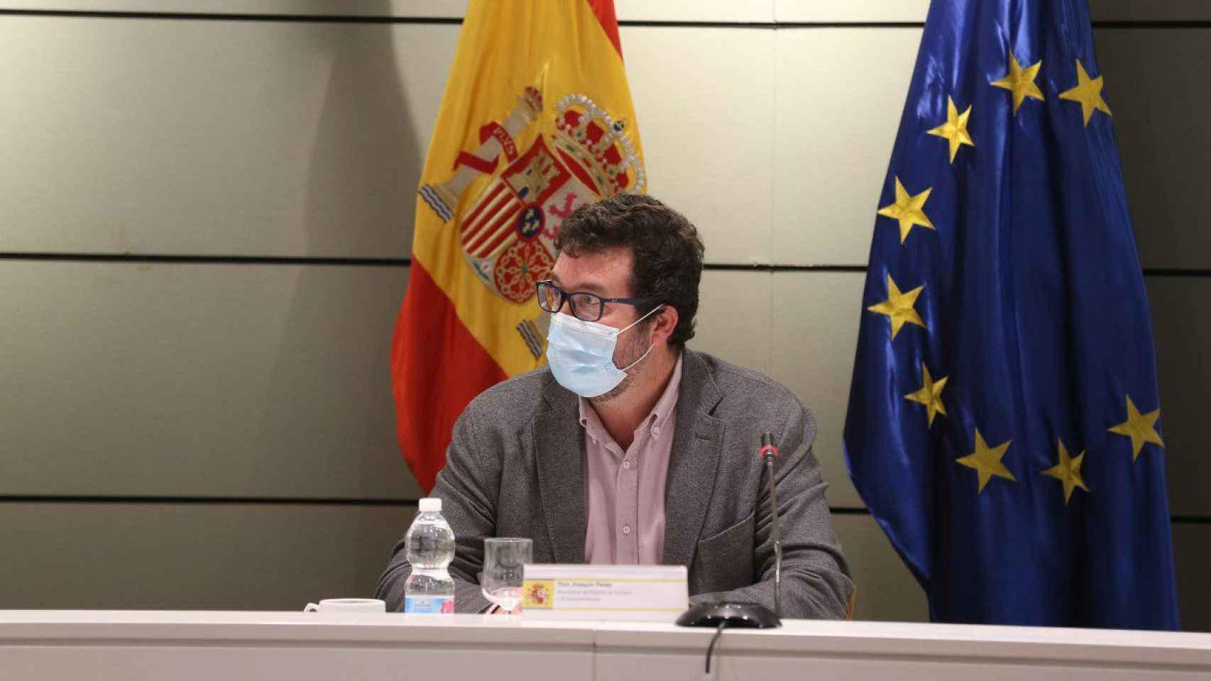 Joaquín Pérez Rey, secretario de Estado de Trabajo.