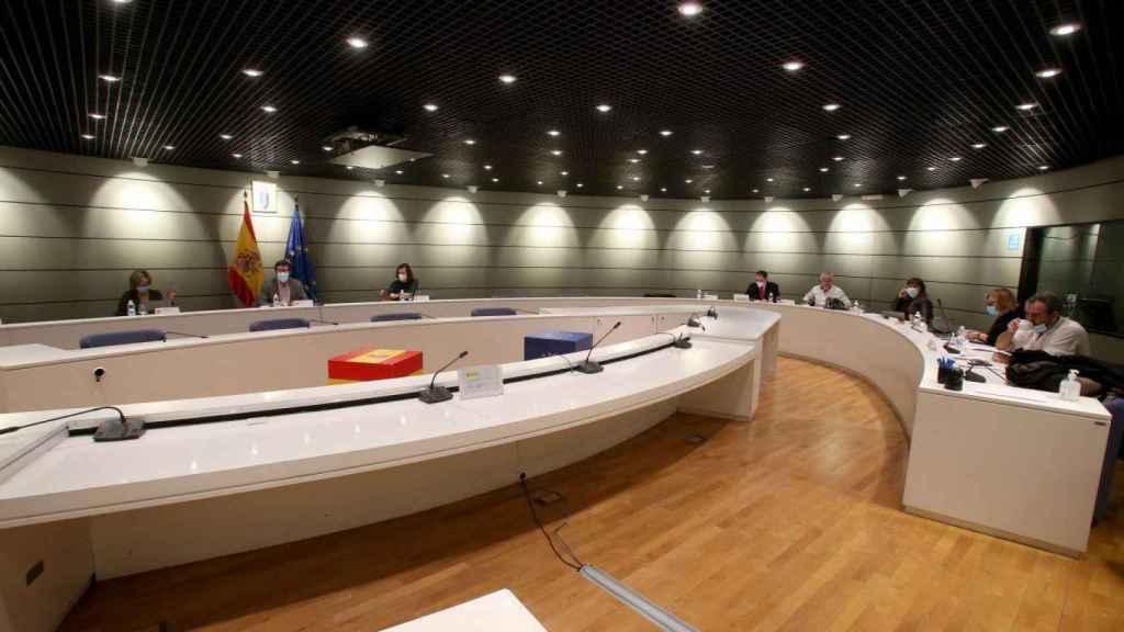 La mesa de Diálogo Social sobre trabajadores de plataformas digitales.
