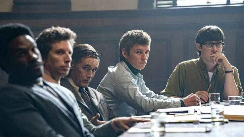 Fotograma de la película 'El juicio de los 7 de Chicago'.