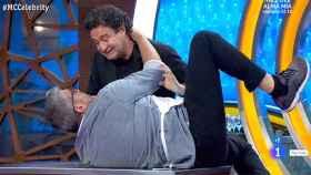 Pepe Rodríguez y Florentino Fernández en 'MasterChef Celebrity'