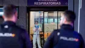 Personal sanitario del Hospital Álvaro Cunqueiro de Vigo. EFE/Salvador Sas.