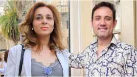 Ana María Aldón y Emilio Salinas.