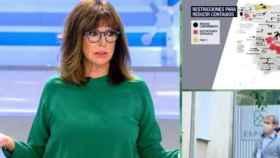 Ana Rosa Quintana, este martes en su programa en Telecinco