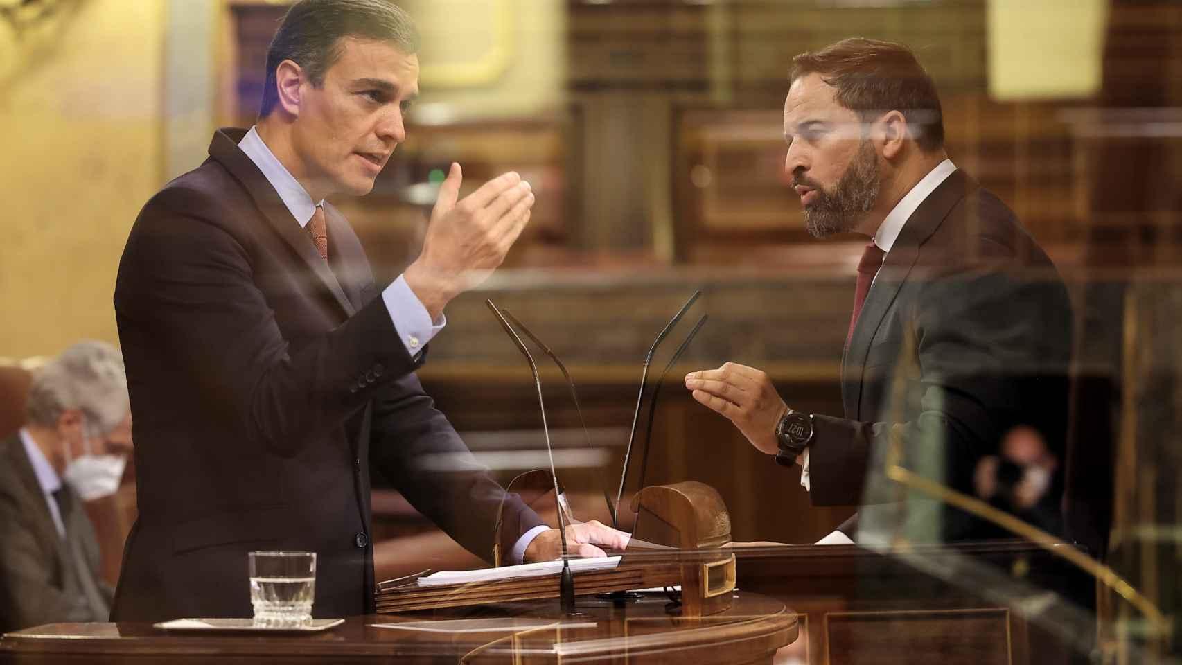 La moción de censura de Vox contra Pedro Sánchez, en imágenes