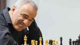 El ajedrecista Garry Kasparov.