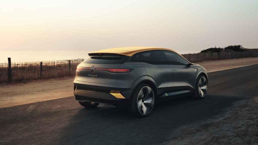 Prototipo que anticipa el futuro Renault Mégane eléctrico.