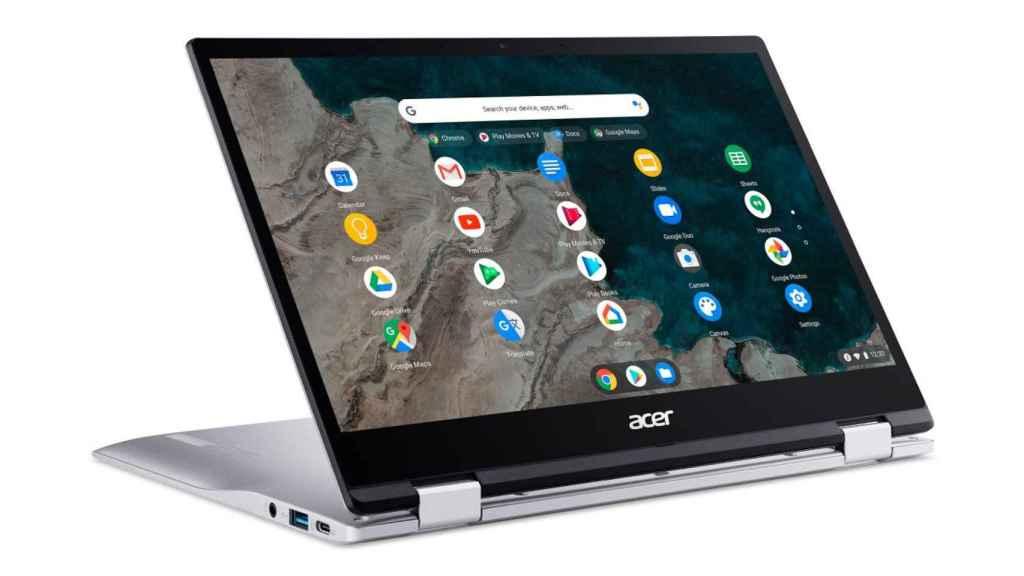 Los Chromebooks son los únicos ordenadores que pueden tener las apps de Google