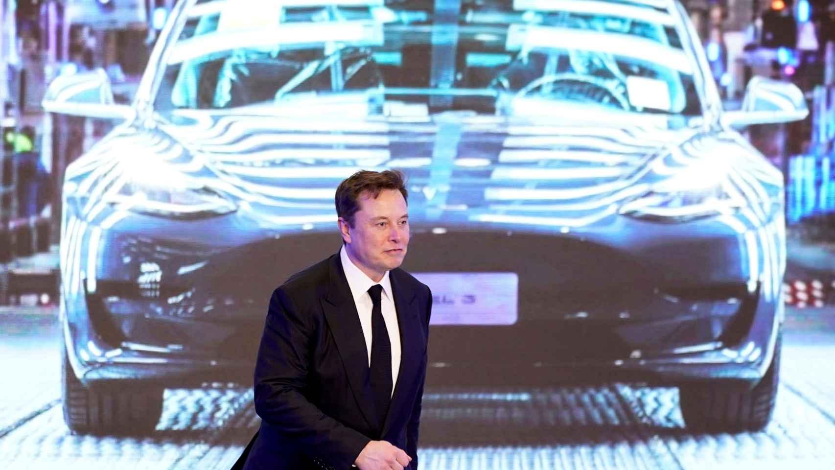 Elon Musk, presidente de Tesla.