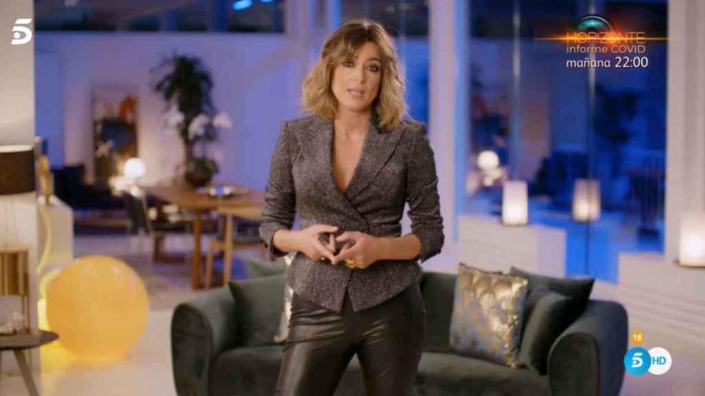Sandra Barneda presentando la final de 'La isla de las tentaciones 2'.