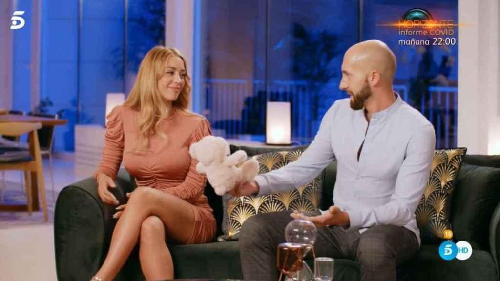 Pablo y Mayka en la final de 'La isla de las tentaciones 2'.