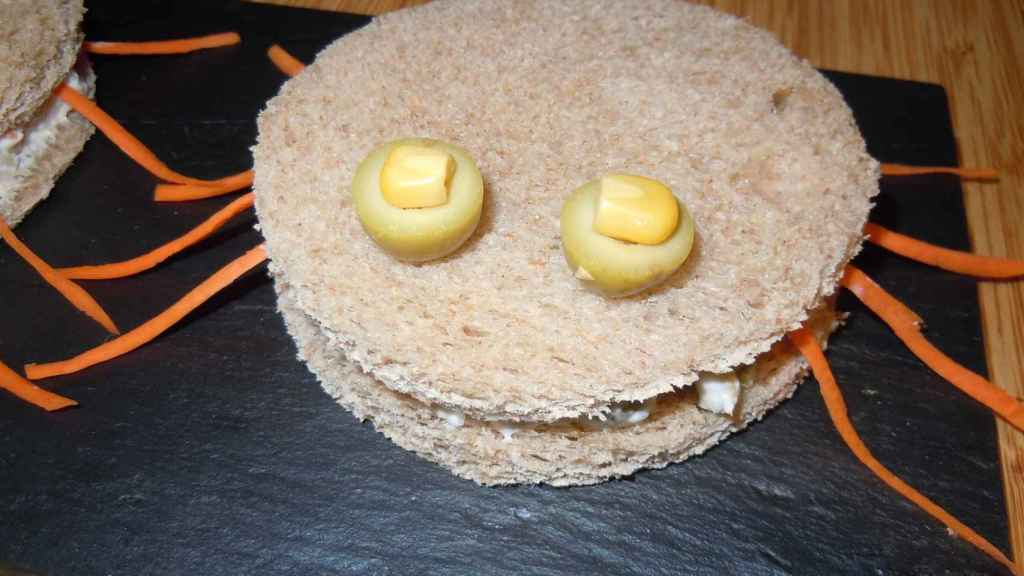 Sandwich de araña