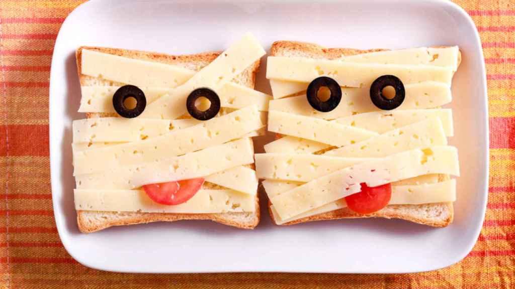 Los mejores mini sándwiches para Halloween