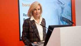 María Dolores Dancausa, CEO de Bankinter, durante la presentación de resultados del 3T.