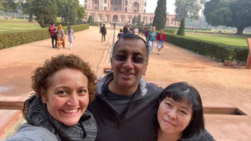 La directiva Ana Céspedes en la India.