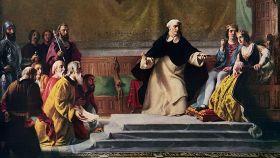 'La expulsión de los judíos', un lienzo de Solomon Alexander Hart.