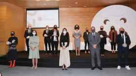 Ceremonia de entrega de los Premios Nacionales de la Industria de la Moda 2020. Foto: Casa Real
