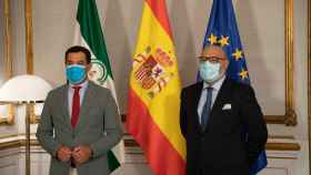 Juanma Moren (PP) y Alejandro Hernández (Vox)