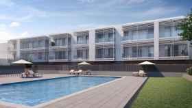 Imagen de la promoción que tiene Habitat Inmobiliaria en Badalona.